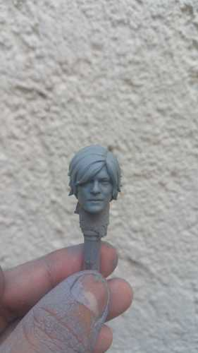 Head Daryl Dixon The Walking Dead 3D Print 29166