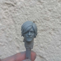 Small Head Daryl Dixon The Walking Dead 3D Printing 29166