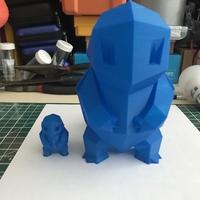 Small Low Poly Pokemon  3D Printing 29536