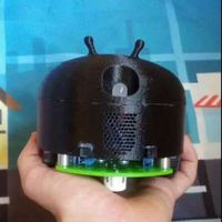 Small Alien android bot 3D Printing 2954