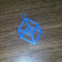 Small PRINT THAT THING - Logo Keychain 3D Printing 2960