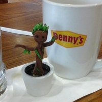 Small Dancing Baby Groot 3D Printing 2967