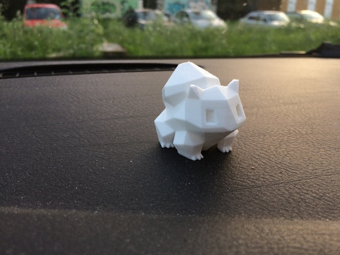 Low Poly Pokemon  3D Print 2972
