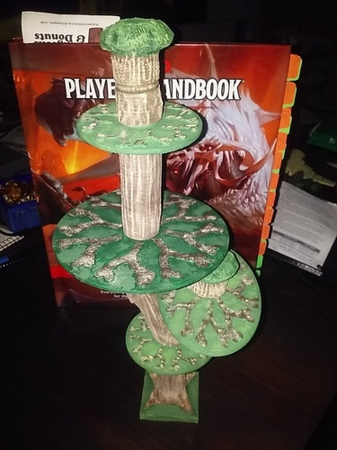 multi part tree tabletop gaming 3D Print 29726
