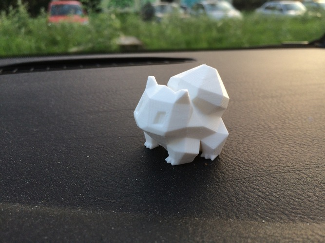 Low Poly Pokemon  3D Print 2973