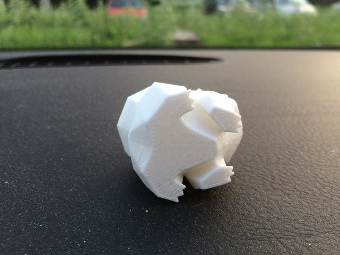 Low Poly Pokemon  3D Print 2975