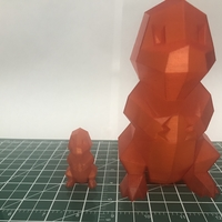 Small Low Poly Pokemon  3D Printing 29781