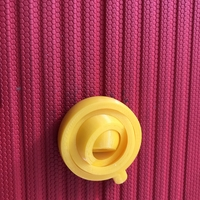 Small gyroscopic keychain 3D Printing 29863