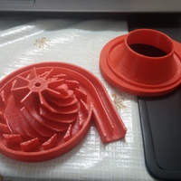 Small centrifugal compressor 3D Printing 3000