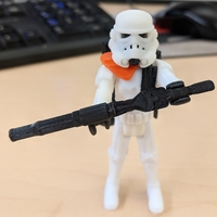 Small Imperial Stormtrooper 3D Printing 30005