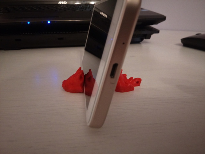 Keichain / Smartphone Stand  3D Print 30030