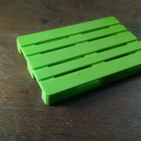Small 1/10 Scale EUR-pallet 3D Printing 30068
