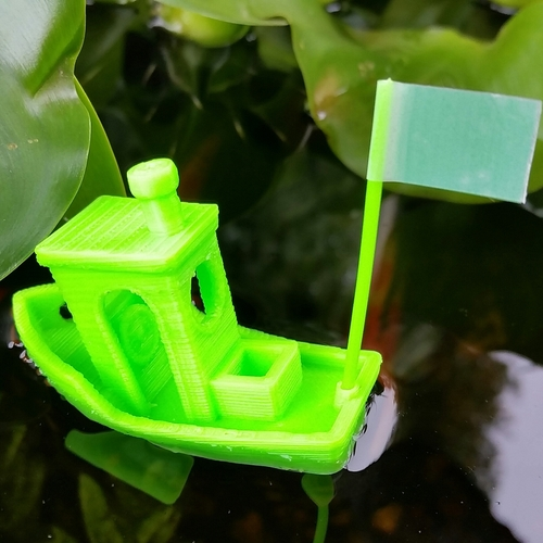 #3DBenchy - The jolly 3D printing torture-test 3D Print 3007