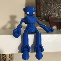 Small Ankly Robot - 3d Printed Assembled 3D Printing 30215