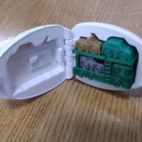 Small Surprise Egg #7 - Tiny Car Carrier 3D Printing 30341