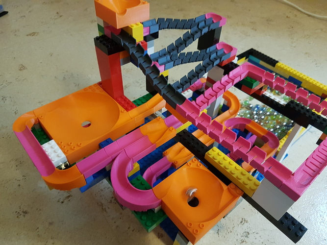 Marble Run Building Brick - Set STARTER 3D Print 30500
