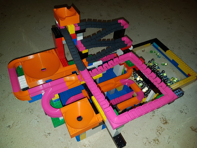 Marble Run Building Brick - Set STARTER 3D Print 30504