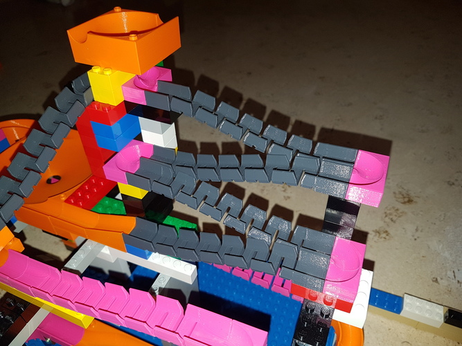 Marble Run Building Brick - Set STARTER 3D Print 30506