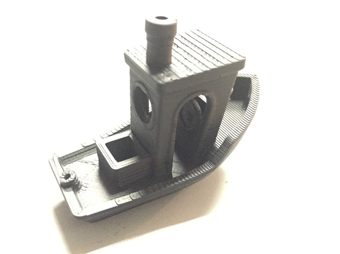 #3DBenchy - The jolly 3D printing torture-test 3D Print 3061