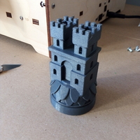 Small Game of thrones Frey Marker reproduction 3D Printing 30670