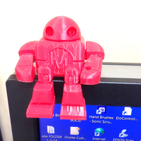 Small Mini Maker Faire Robot Action Figure 3D Printing 3075