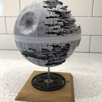 Small Star Wars Death Star 3D Printing 30791
