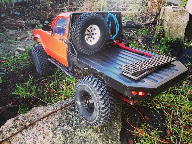 Mojave Hilux flatbed Body Trailfinder 2 TF2 RC4WD Scaler Crawler 3D Print 30793