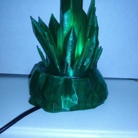 Small Kryptonite tea light 3D Printing 30870