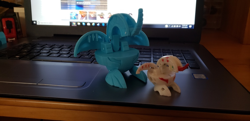 World's First 3d Printable Bakugan 3D Print 30922