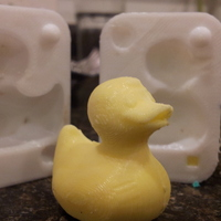 Small Rubber Ducky Mold 3D Printing 313