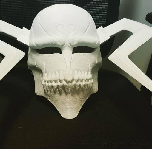 The Whole Hollow Mask - Kurosaki Ichigo - Bleach 3D Print 31331