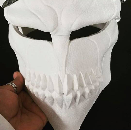 The Whole Hollow Mask - Kurosaki Ichigo - Bleach 3D Print 31332