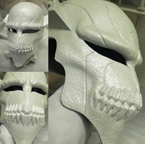 The Whole Hollow Mask - Kurosaki Ichigo - Bleach 3D Print 31334