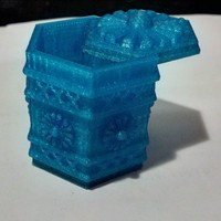 Small Amsterdam Green-box 3D Printing 3135