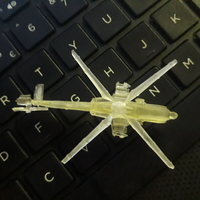 Small Rooivalk Attach helicopter 3D Printing 31461