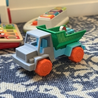 Small Toy Dump Truck 3D Printing 31482