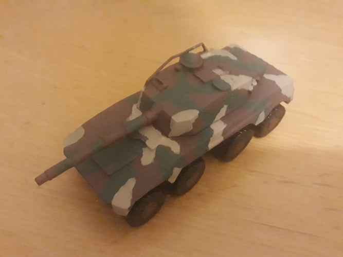 Rooikat Amourd Car( Wargame ) 3D Print 31601