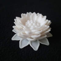 Small Dahlia Inspired Flower 3D Printing 31647