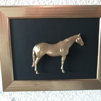 Small Walking Horse 3D Printing 31871