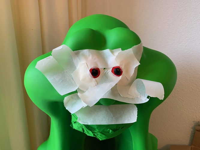 Slimer from The Real Ghostbuster 3D Print 31985
