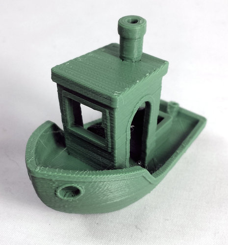 #3DBenchy - The jolly 3D printing torture-test 3D Print 3204