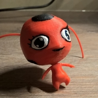 Small Tikky, character from Miraculous Ladybug 3D Printing 32162