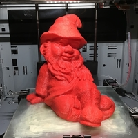 Small Gnome - Sitting 3D Printing 32238