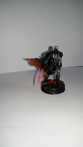 The Dark Lord Damaged 3D Print 32264