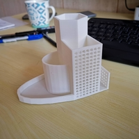 Small Pen holder 3D Printing 32310