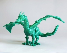 Pin container braq jointed dragon 3d printing 54200