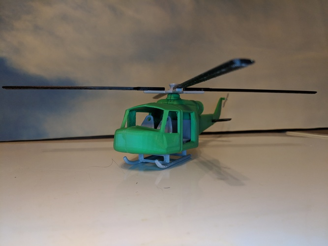army chopper 3D Print 32447
