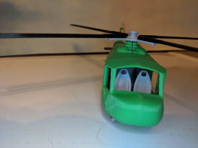 army chopper 3D Print 32450