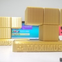 Small Nintendo Switch - Tetris 99 - Maximus Cup Trophy  3D Printing 32504
