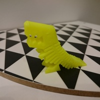 Small Flexy Rex 3D Printing 3259